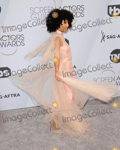 Yara Shahidi Photo - LOS ANGELES - JAN 27  Yara Shahidi at the 25th Annual Screen Actors Guild Awards at the Shrine Auditorium on January 27 2019 in Los Angeles CA