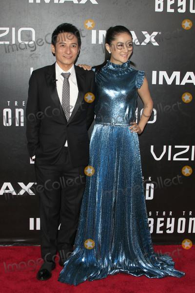 Xie Na Photo - LOS ANGELES - JUL 20  Li Weijia Xie Na at the Star Trek Beyond World Premiere at the Embarcadero Marina on July 20 2016 in San Diego CA