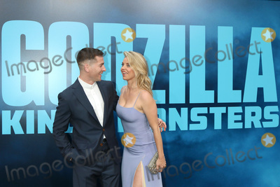 Kelli Garner Photo - LOS ANGELES - MAY 18  Zach Shields Kelli Garner at the Godzilla King Of The Monsters Premiere at the TCL Chinese Theater IMAX on May 18 2019 in Los Angeles CA