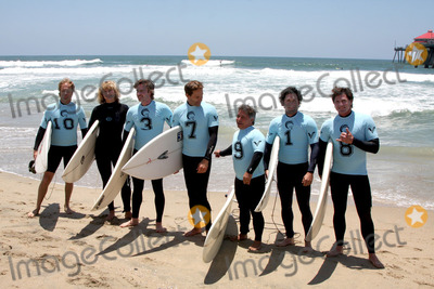 David ODonnell Photo - Zoe Bell Sam Trammell Chris Bruno Michael Munoz David ODonnell and Surfer 8participates in the 3rd Annual Project SOS SURF 24 - Day 1Huntington  Beach PierHuntington Beach CAJune 19 2010
