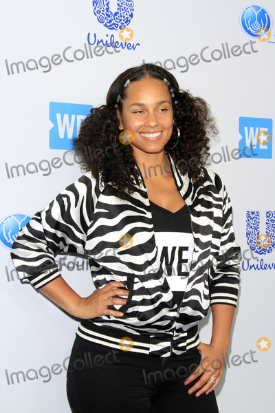 Alicia Keys Photo -  LOS ANGELES - APR 27  Alicia Keys at the We Day California 2017 at The Forum on April 27 2017 in Inglewood CA