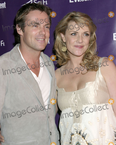 Amanda Tapping Photo - Michael Shanks  Amanda TappingEntertainment Weekly  SciFi Comic-Con PartyHotel SolamarSan Diego  CAJuly 28 2007