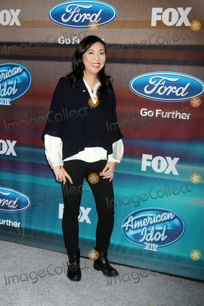 Hannah An Photo - LOS ANGELES - MAR 11  Hannah An at the American Idol Season 14 Finalist Party at the The District Resturant on March 11 2015 in Los Angeles CA