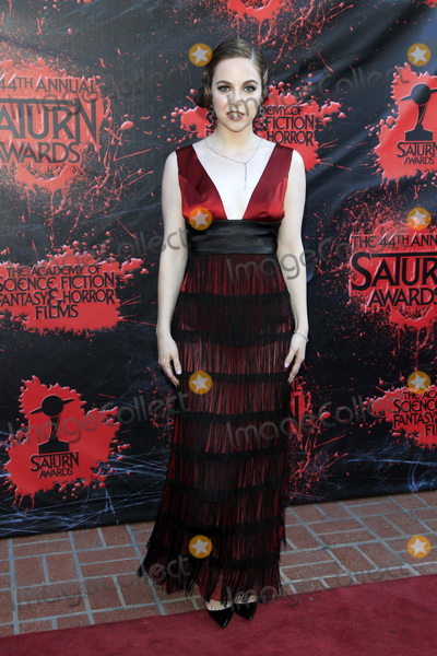 Brittany Curran Photo - LOS ANGELES - JUN 27  Brittany Curran at the Saturn Awards at the Castaways on June 27 2018 in Burbank CA