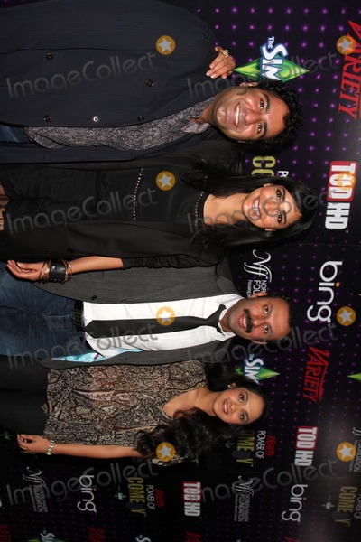 Anisha Nagarajan Photo - LOS ANGELES - DEC 4  Outsourced cast members Parvesh Cheena Rebecca Hazlewood Rizwan Manji and Anisha Nagarajan arrives at Varietys Power of Comedy 2010 at Club Nokia on December 4 2010 in Los Angeles CA
