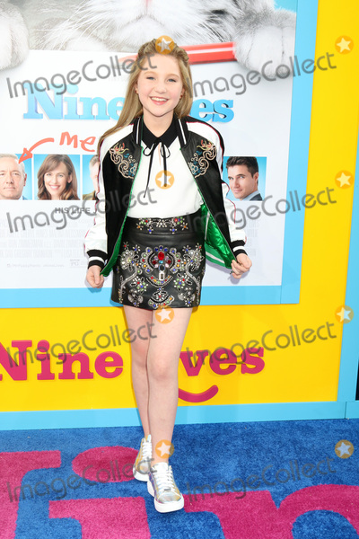 Ella Anderson Photo - LOS ANGELES - AUG 1  Ella Anderson at the Nine Lives Premiere at the TCL Chinese Theater IMAX on August 1 2016 in Los Angeles CA