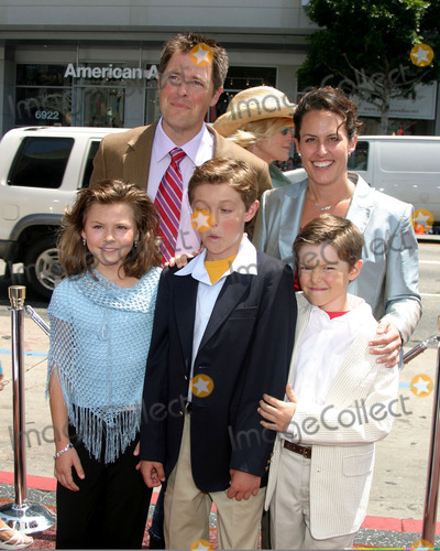 Adam Godley Photo - Adam Godleyand familyCharlie  the Chocolate Factory World PremiereGraumans Chinese TheaterLos Angeles CAJuly 10 2005