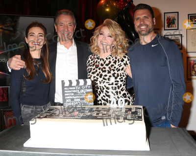 Amelia Heinle Photo - LOS ANGELES - FEB 20  Amelia Heinle Eric Braeden Melody Thomas Scott Joshua Morrow at the Melody Thomas Scott Celebrates 40 Years on YR Event at CBS Television City on February 20 2019 in Los Angeles CA