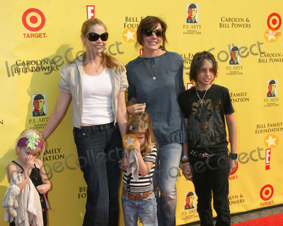Krista Allen Photo - Denise Richards  daughters Lola  Sam Sheen  with Krista Allen  her son arriving  at the PS ARTS 11th Annual Express Yourself Event at Barker Hanger in Santa Monica CA on November 15 2008
