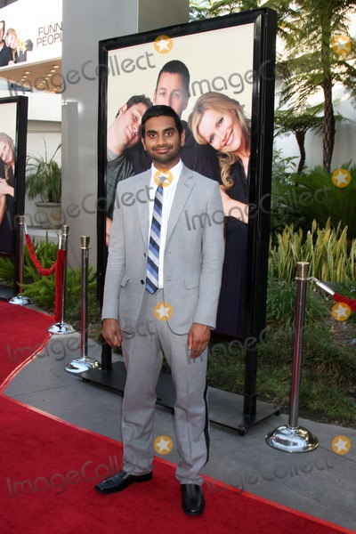 Aziz Ansari Photo - Aziz Ansari arriving at the Funny People  World Premiere at the ArcLight Hollywood Theaters in Los Angeles  CA   on July 20 2009
