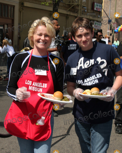 Austin Luciano Photo - Judi Evans  Son Austin Lucianoat the 2010 LA Mission Easter Dinner EventLos Angeles MissionLos Angeles CAApril 2 2010