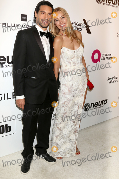 Elton John Photo - LOS ANGELES - FEB 24  Benjamin Larretche Petra Nemcova at the Elton John Oscar Viewing Party on the West Hollywood Park on February 24 2019 in West Hollywood CA