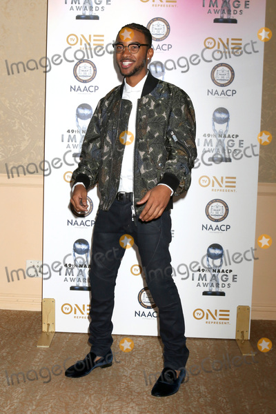 Algee Smith Photo - LOS ANGELES - DEC 16  Algee Smith at the 49th NAACP Image Awards Nominees Luncheon at Beverly Hilton Hotel on December 16 2017 in Beverly Hills CA