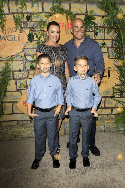 Tito Ortiz Photo - LOS ANGELES - NOV 28  Amber Nichole Miller Tito Ortiz his sons at the Mowgli Legend of the Jungle Premiere at the ArcLight Theater on November 28 2018 in Los Angeles CA