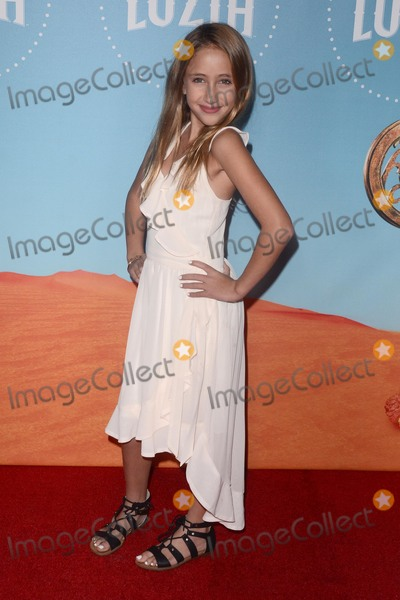 Ava Kolker Photo - LOS ANGELES - DEC 12  Ava Kolker at the Cirque du Soleil Presents LA Premiere Event Of Luzia at the Dodger Stadium on December 12 2017 in Los Angeles CA