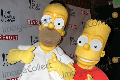 Homer Simpson Photo - LOS ANGELES - APR 30  Homer Simpson Bart Simpson at the NCTAs Chairmans Gala Celebration of Cable with REVOLT at The Belasco Theater on April 30 2014 in Los Angeles CA