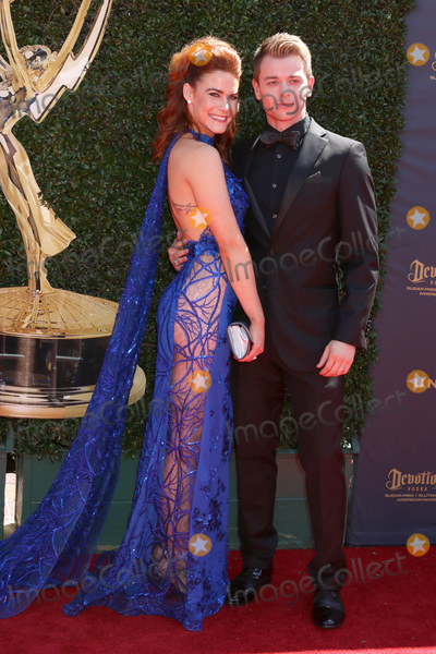 Chad Duell Photo - LOS ANGELES - APR 30  Courtney Hope Chad Duell at the 44th Daytime Emmy Awards - Arrivals at the Pasadena Civic Auditorium on April 30 2017 in Pasadena CA