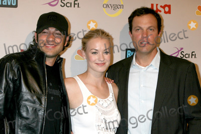 Adam Baldwin Photo - Zach Levi  Yvonne Strahovski  Adam Baldwin arriving at the NBC TCA Party at the Beverly Hilton Hotel  in Beverly Hills CA onJuly 20 2008