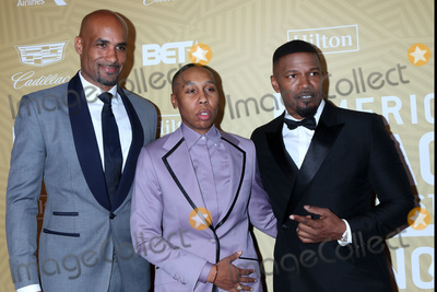 Boris Kodjoe Photo - LOS ANGELES - FEB 23  Boris Kodjoe Lena Waithe Jamie Foxx at the American Black Film Festival Honors Awards at the Beverly Hilton Hotel on February 23 2020 in Beverly Hills CA