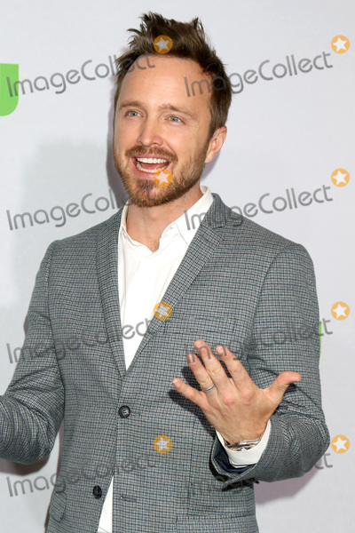 Aaron Paul Photo - PASADENA - JAN 7  Aaron Paul at the HULU TCA Winter 2017 Photo Call at the Langham Hotel on January 7 2015 in Pasadena CA