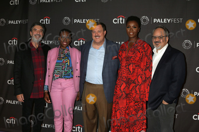 Al Higgins Photo - LOS ANGELES - SEP 12  Chuck Lorre Gina Yashere Billy Gardell Folake Olowofoyeku Al Higgins at the 2019 PaleyFest Fall TV Previews - CBS at the Paley Center for Media on September 12 2019 in Beverly Hills CA