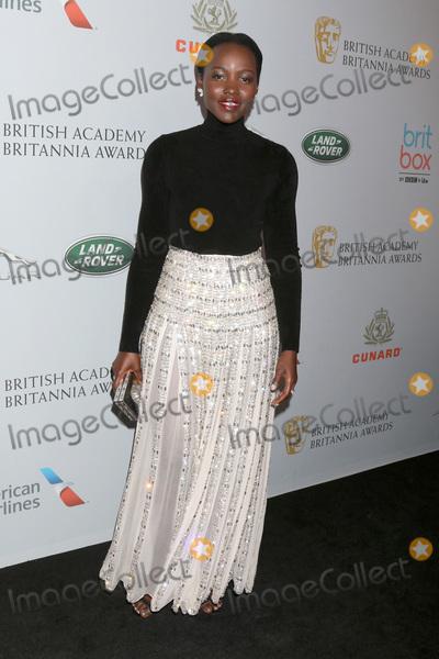Lupita  Nyongo Photo - LOS ANGELES - OCT 25  Lupita Nyongo at the 2019 British Academy Britannia Awards at the Beverly Hilton Hotel on October 25 2019 in Beverly Hills CA
