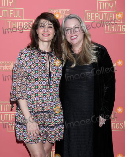 Nia Vardalos Photo - LOS ANGELES - APR 14  Nia Vardalos Cheryl Strayed at the Tiny Beautiful Things Opening Night at the Pasadena Playhouse on April 14 2019 in Pasadena CA