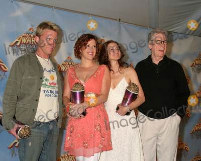 Ally Sheedy Photo - Anthony Michael Hall Molly Ringwald Ally Sheedy and Paul Gleason in the press room after winning a special award for the classic movie The Breakfast Club at the MTV Movie Awards at the Shrine Auditorium Los Angeles CAJune 4 2005