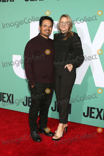 Michael Pena Photo - LOS ANGELES - OCT 3  Michael Pena Brie Shaffer at the Jexi Premiere at the Bruin Theater on October 3 2019 in Westwood CA