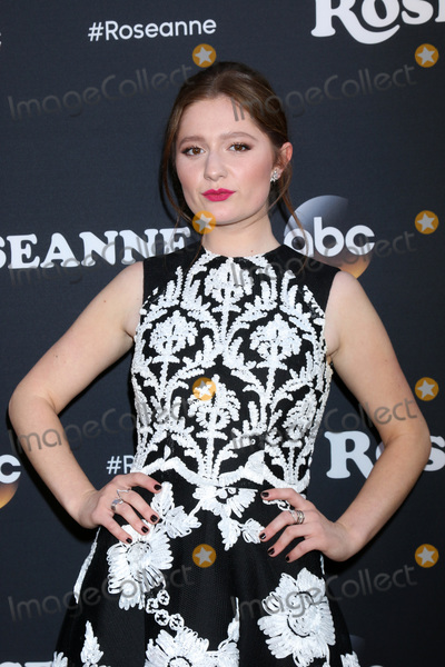 Roseanne Photo - LOS ANGELES - MAR 23  Emma Kenney at the Roseanne Premiere Event at Walt Disney Studios on March 23 2018 in Burbank CA