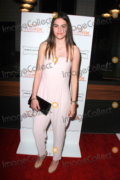 Amelia Hamlin Photo - LOS ANGELES - MAR 7  Amelia Hamlin at the Raising The Bar To End Parkinsons Event at the Public School 818 on March 7 2015 in Sherman Oaks CA