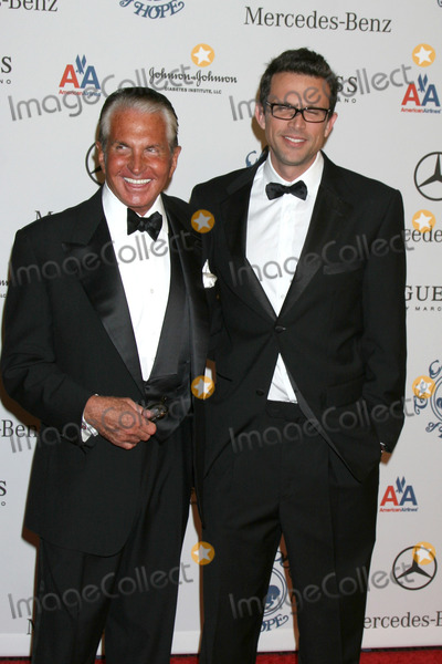 Ashley Hamilton Photo - George Hamilton  son Ashley Hamilton arriving to the Carousel of Hope Ball at the Bevelry Hilton Hotel in Beverly Hills CA  onOctober 25 2008