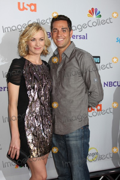 Zach Levi Photo - LOS ANGELES - AUG 1  Yvonne Strahovski Zach Levi arriving at the NBC TCA Summer 2011 Party at SLS Hotel on August 1 2011 in Los Angeles CA