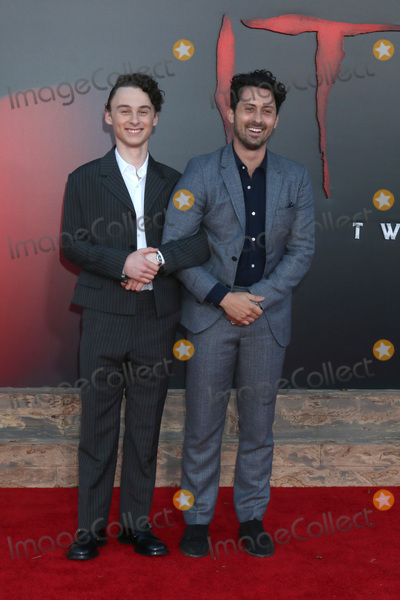 Andy Bean Photo - LOS ANGELES - AUG 26  Wyatt Oleff Andy Bean at the It Chapter Two Premiere at the Village Theater on August 26 2019 in Westwood CA