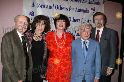 Gary Owens Photo -  Lily Tomlin Jo Anne Worley Arte  Johnson and Gary Owens at  the Actors  Others for Animals Roast of Carol Channing at the Universal Hilton Hotel in Los Angeles CA on November 15 2008
