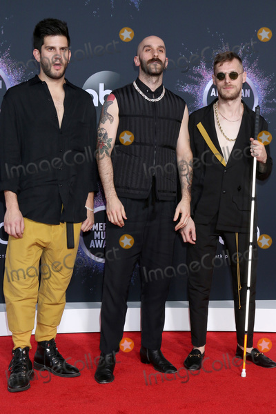 Adam Levine Photo - LOS ANGELES - NOV 24  X Ambassadors - Adam Levin Sam Harris Casey Harris at the 47th American Music Awards - Arrivals at Microsoft Theater on November 24 2019 in Los Angeles CA