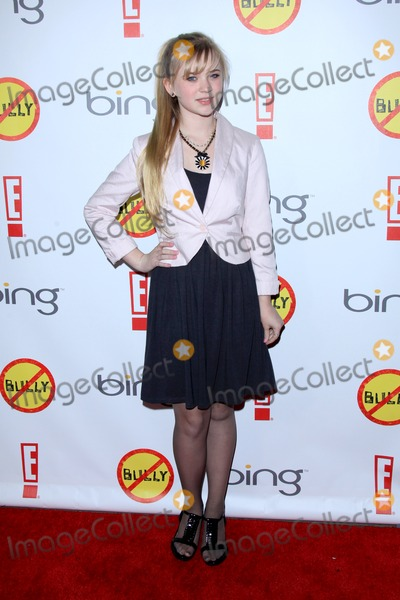 Sierra McCormick Photo - LOS ANGELES - MAR 26  Sierra McCormick arrives at  the Bully Movie Premiere at the Chinese 6 Theaters on March 26 2012 in Los Angeles CA