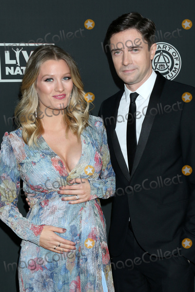 Topher Grace Photo - LOS ANGELES - JAN 4  Ashley Grace and Topher Grace at the Art of Elysium Gala - Arrivals at the Hollywood Palladium on January 4 2020 in Los Angeles CA
