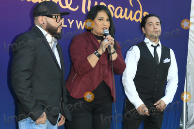 A B Quintanilla Photo - LOS ANGELES - AUG 30  AB Quintanilla Suzette Quintanilla Chris Perez at the Selena Quintanilla Wax Figure Unveiling at the Madame Tussauds Hollywood on August 30 2016 in Los Angeles CA