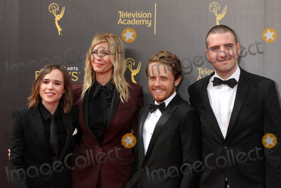 Ellen Page Photo - LOS ANGELES - SEP 11  Ellen Page Guest Ian Daniel at the 2016 Primetime Creative Emmy Awards - Day 2 - Arrivals at the Microsoft Theater on September 11 2016 in Los Angeles CA