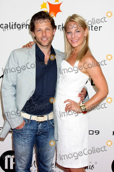 Anastasia Griffiths Photo - Jamie Bamber  sister Anastasia Griffith arriving at the Fashion for Life 2009 Fashion Show benefiting Friendly House at the California Market Center in Los Angeles CA on May 17 2009