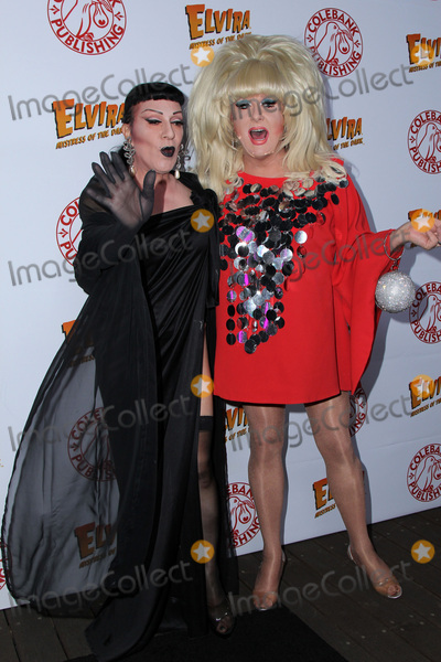 Joey Arias Photo - LOS ANGELES - OCT 17  Joey Arias Lady Bunny at the Elvira Mistress Of The Dark Coffin Table Book Launch at Roosevelt Hotel on October 17 2016 in Los Angeles CA
