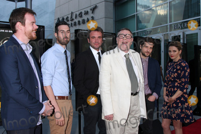 AJ Bowen Photo - LOS ANGELES - MAY 20  Joe Swanberg Ti West AJ Bowen Gene Jones Kentucker Audley Amy Seimetz at the The Sacrament Premiere at ArcLight Hollywood Theaters on May 20 2014 in Los Angeles CA