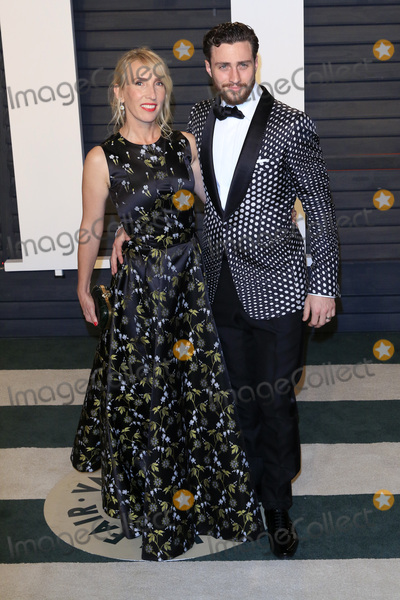 Aaron Taylor-Johnson Photo - LOS ANGELES - FEB 28  Sam Taylor-Johnson Aaron Taylor-Johnson at the 2016 Vanity Fair Oscar Party at the Wallis Annenberg Center for the Performing Arts on February 28 2016 in Beverly Hills CA