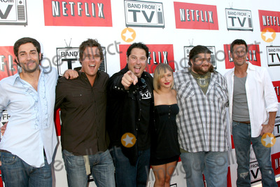 Zach Levi Photo - Zach Levi Bob Guiney Greg Grunberg Hayden Panettiere Jorge Garcia and Jamie DentonBand From TV Netflix Live on Location ConcertAutry Museum in Griffith ParkLos Angeles CAAugust 9 2008