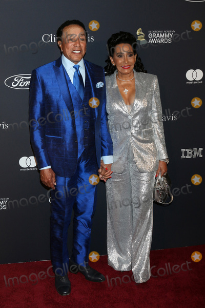 Smokey Robinson Photo - LOS ANGELES - JAN 25  Smokey Robinson wife at the 2020 Clive Davis Pre-Grammy Party at the Beverly Hilton Hotel on January 25 2020 in Beverly Hills CA