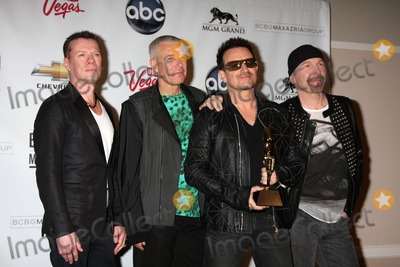 Adam Clayton Photo - LAS VEGAS - MAY 22  U2 (Larry Mullen Jr Adam Clayton Bono and The Edge) in the Press Room of the 2011 Billboard Music Awards at MGM Grand Garden Arena on May 22 2010 in Las Vegas NV