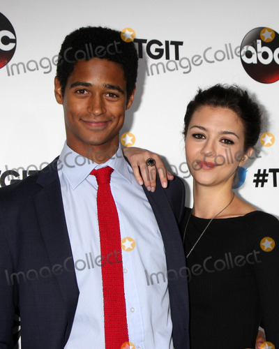 Alfred Enoch Photo - LOS ANGELES - SEP 20  Alfred Enoch Katie Findlay at the TGIT Premiere Event for Greys Anatomy Scandal How to Get Away With Murder at Palihouse on September 20 2014 in West Hollywood CA