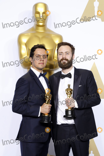 Benjamin Cleary Photo - LOS ANGELES - FEB 28  Shan Christopher Ogilvie Benjamin Cleary at the 88th Annual Academy Awards - Press Room at the Dolby Theater on February 28 2016 in Los Angeles CA