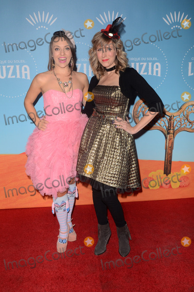Olga Kay Photo - LOS ANGELES - DEC 12  Olga Kay Angel Anderson at the Cirque du Soleil Presents LA Premiere Event Of Luzia at the Dodger Stadium on December 12 2017 in Los Angeles CA